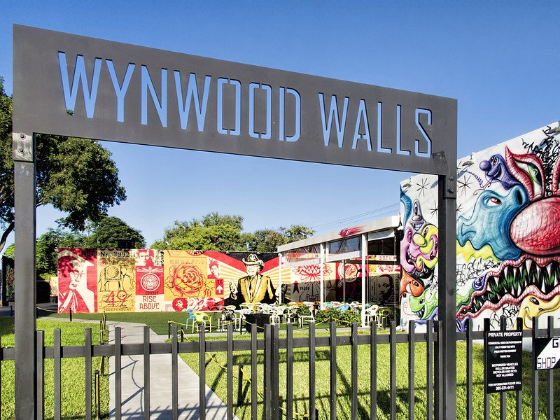 Wynwood Walls Entrance Gate | things to do in miami