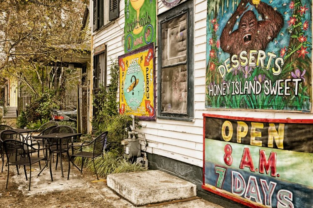 A restaurant in historic Bywater neighborhood | best things to do in new orleans