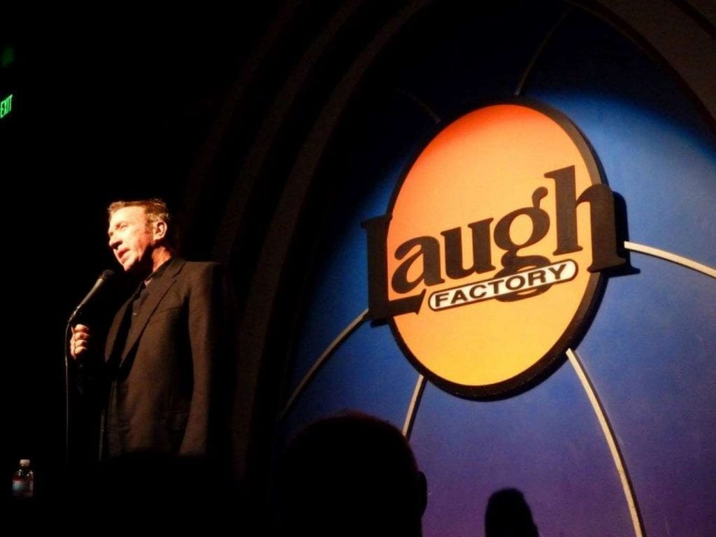 Actor and Comedian Tim Allen doing stand-up at the Laugh Factory in Los Angeles Best things to do in LA