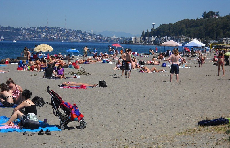 Alki Beach Park | things to do in seattle