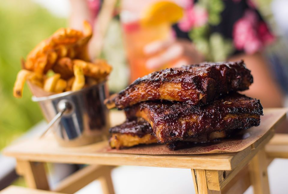 BBQ Ribs at Planet Hollywood | things to do in orlando