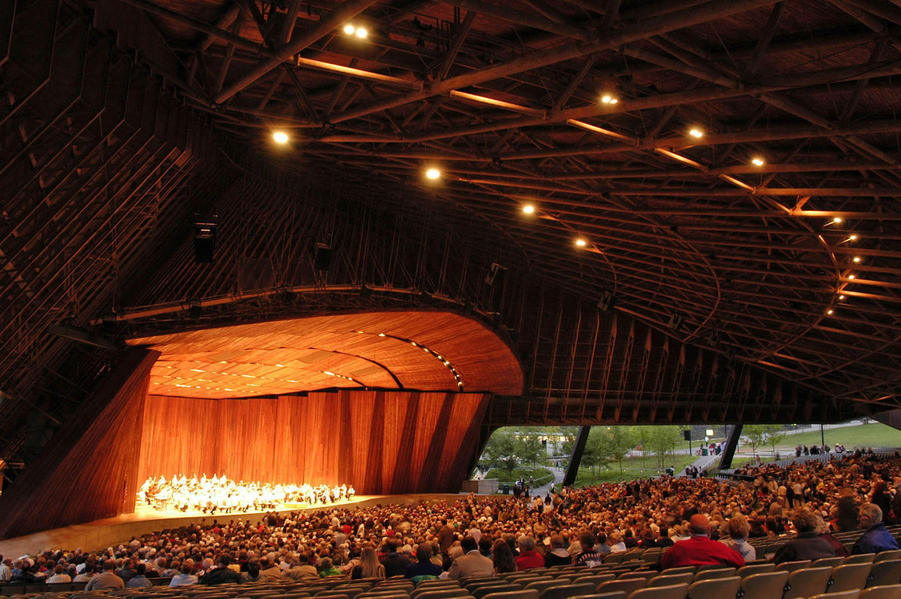Blossom Music Center | things to do in akron