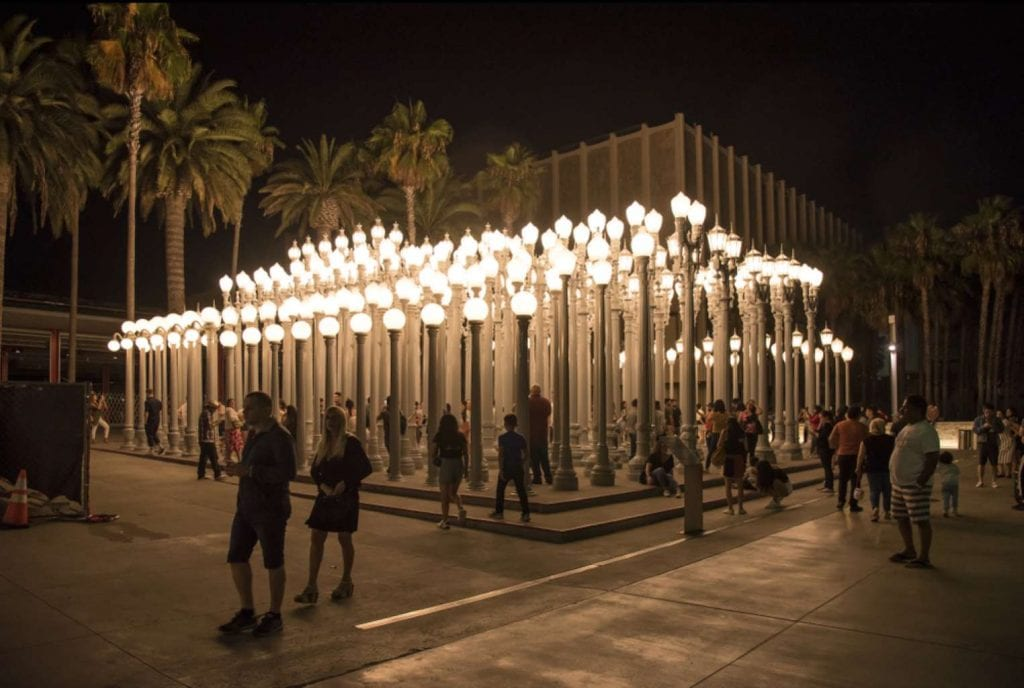 Chris Burden's Urban Light artwork, Los Angeles County Museum of Art Best things to do in LA