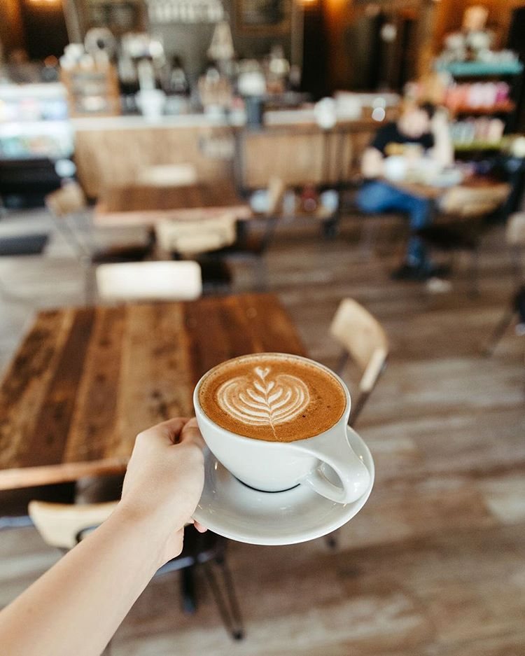Coffee at Foxtail Coffee Co. | things to do in orlando