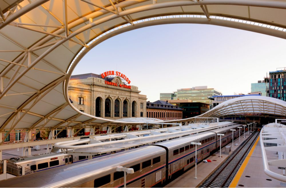 Denver Union Station at Sunset | things to do in denver