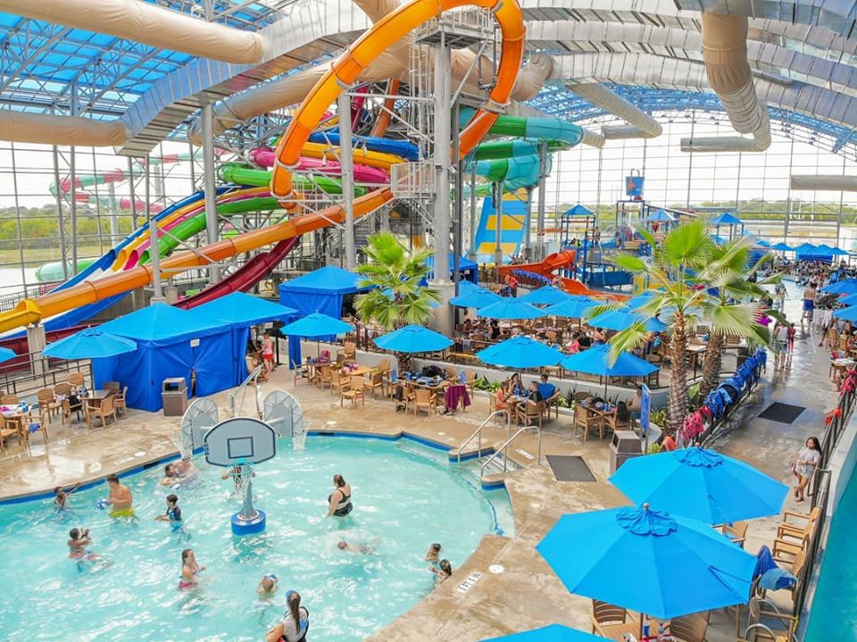 Epic Waters indoor waterpark | best things to do in dallas