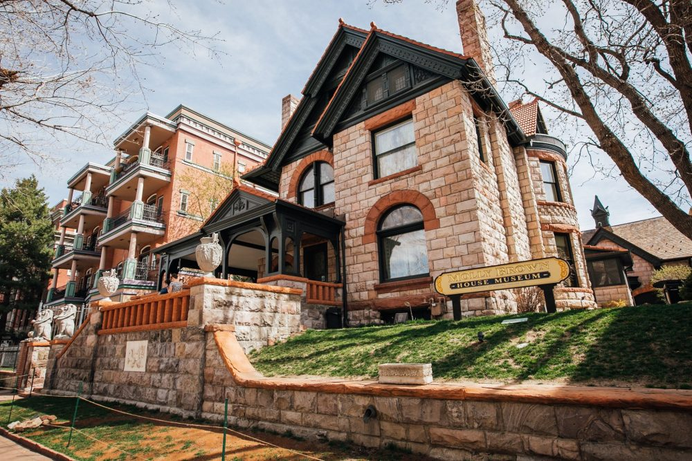 Exterior of the Molly Brown House Museum | things to do in denver