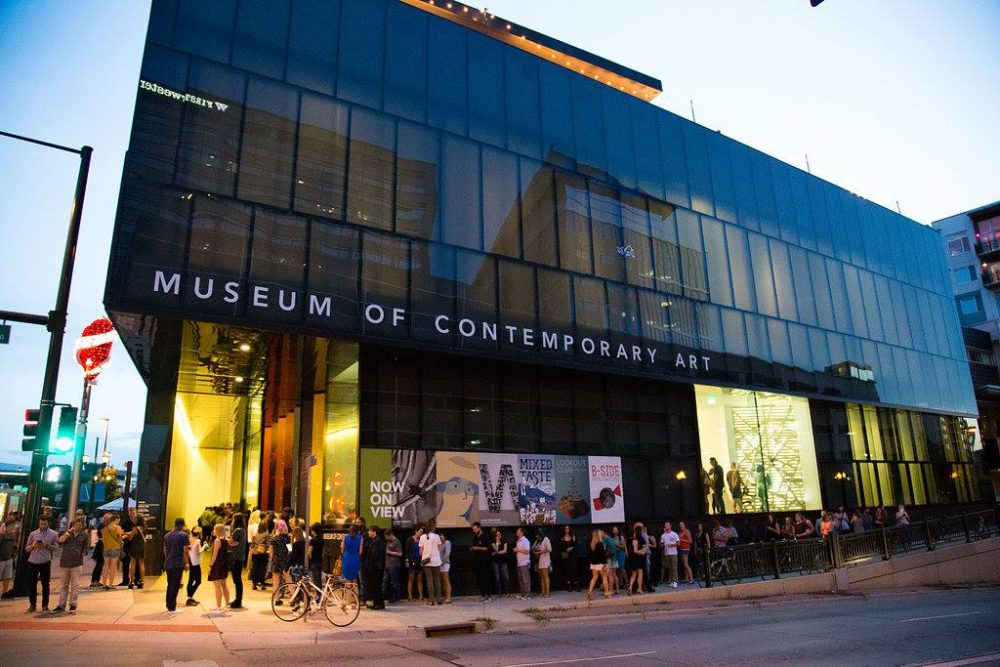 Exterior of the Museum of Contemporary Art | things to do in denver