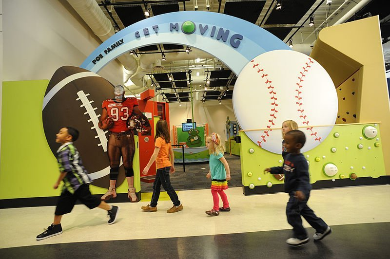 Get Moving exhibit at Glazer Children's Museum | best things to do in tampa