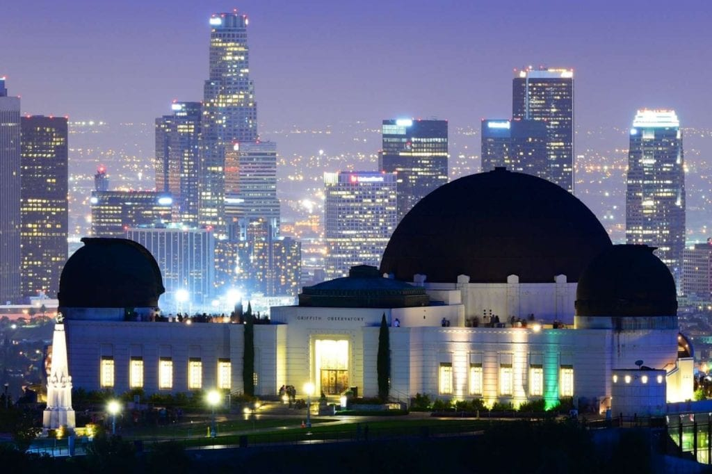 Griffith Observatory with Downtown Los Angeles Best things to do in LA