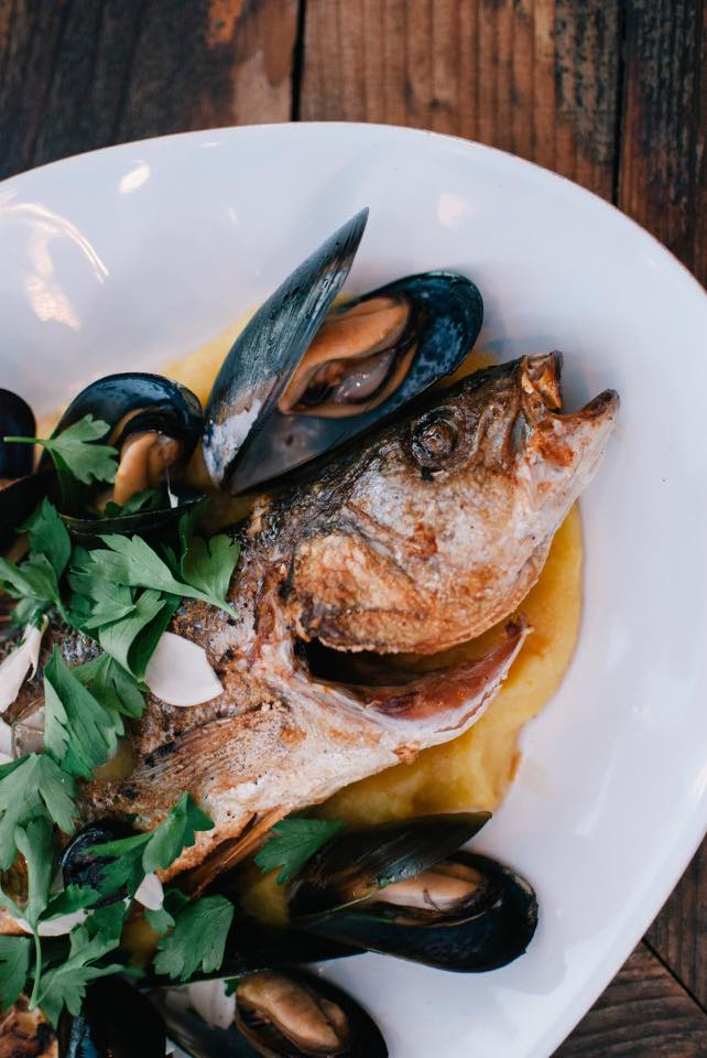 Grilled fish at Rockcreek Seafood and Spirits | things to do in seattle