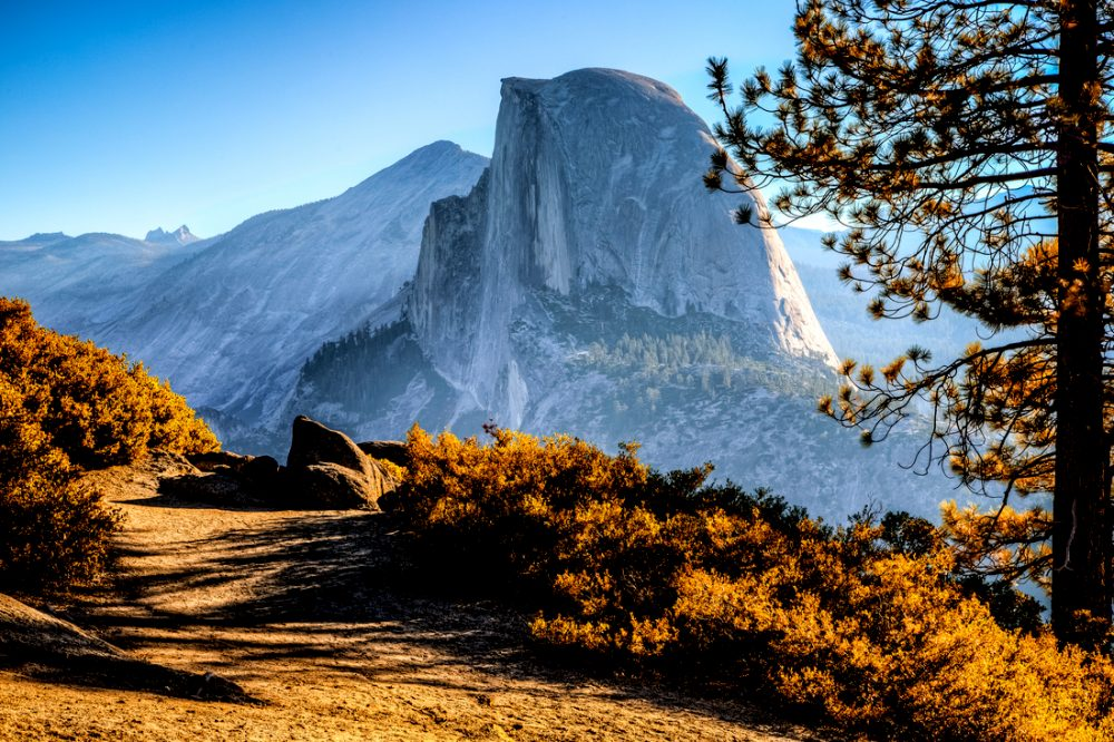 Half Dome Trail View, Yosemite National Park, California | things to do in yosemite