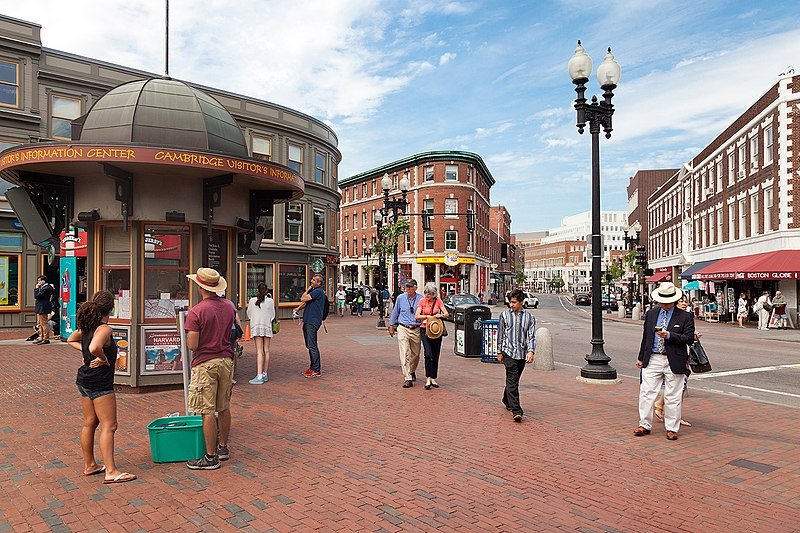 Harvard Square in Cambridge | best things to do in boston