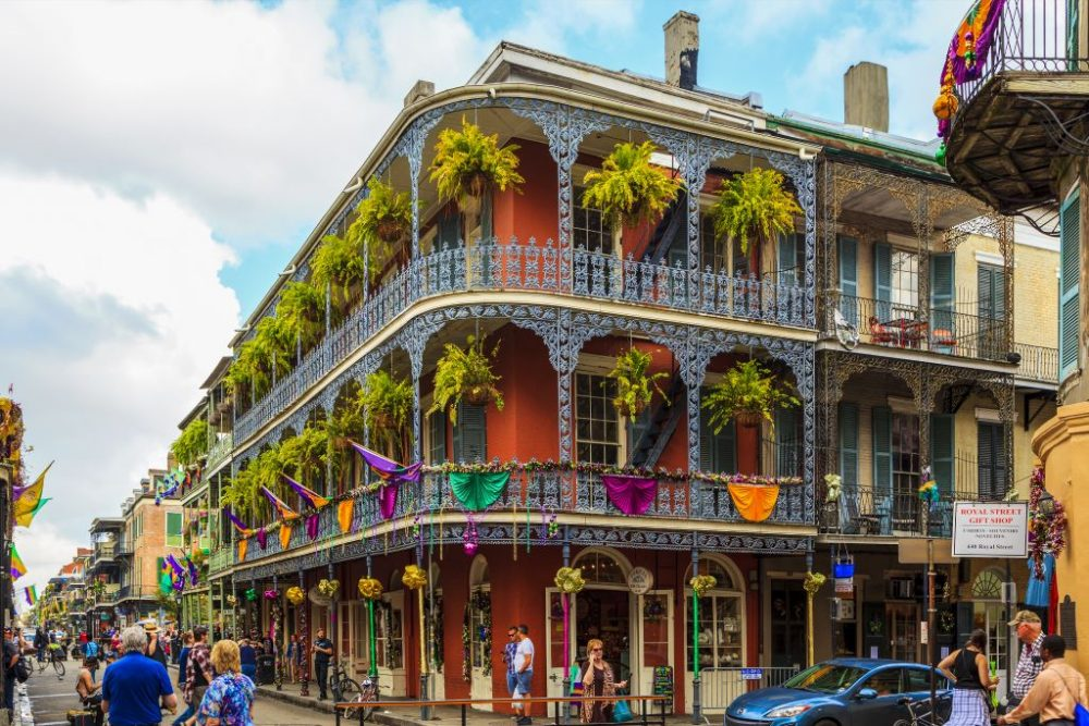 Historic building in the French Quarter in New Orleans | best things to do in new orleans
