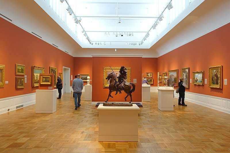 Interior view of Portland Art Museum | things to do in portland