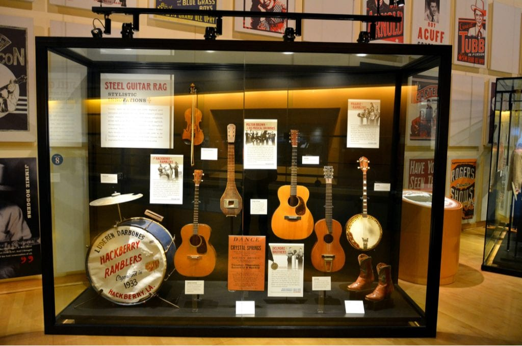 Interior view of the Country Music Hall of Fame and Museum | best things to do in nashville