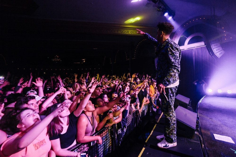 Kyle - Super Duper Tour at Crystal Ballroom | things to do in portland