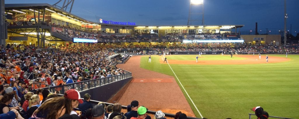 Nashville Sounds match at First Horizon Park | best things to do in nashville