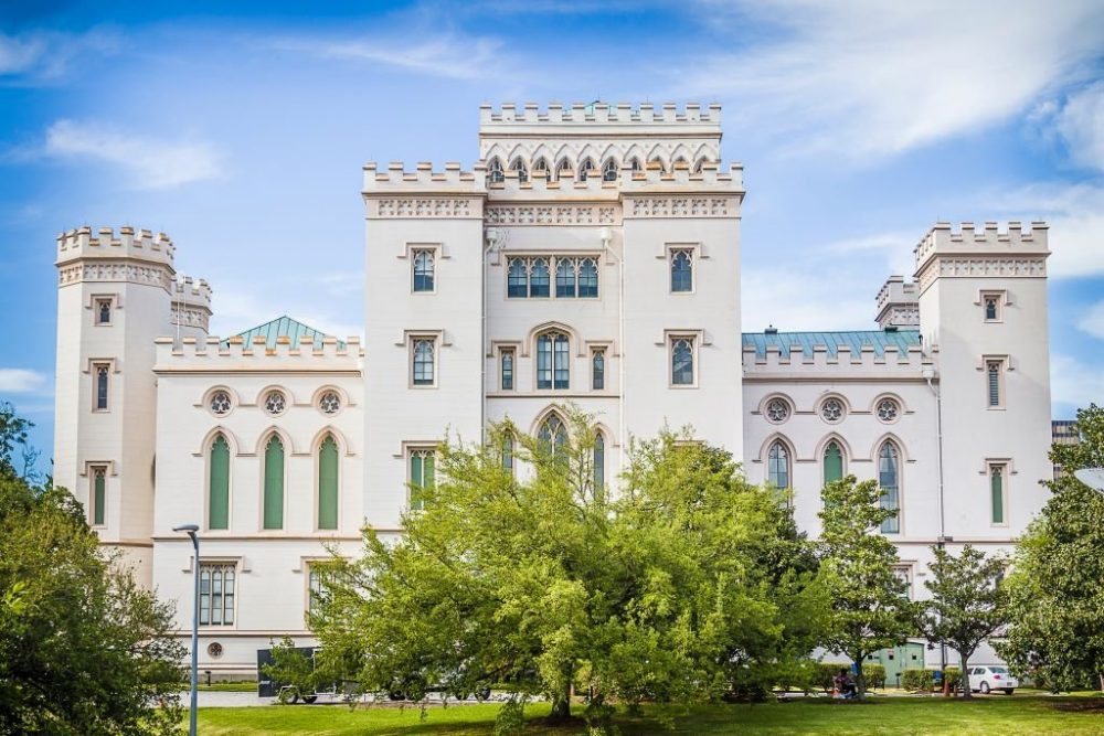 Old State Capitol Building in Baton Rouge | best things to do in new orleans