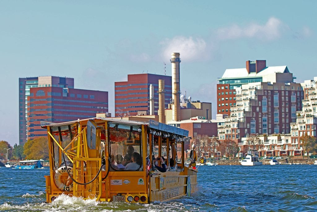 One of the rides at Boston Duck Tours | best things to do in boston