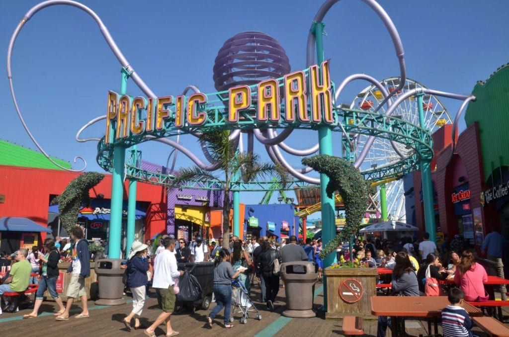 Pacific Park on the Santa Monica beach Best things to do in LA