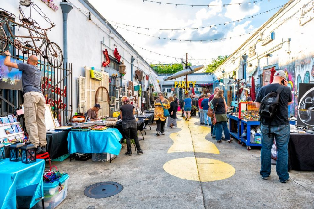 Palace Market Frenchmen in Marigny | best things to do in new orleans