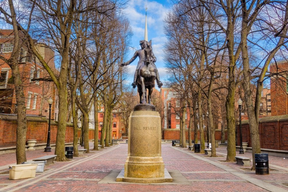 Paul Revere Monument | best things to do in boston