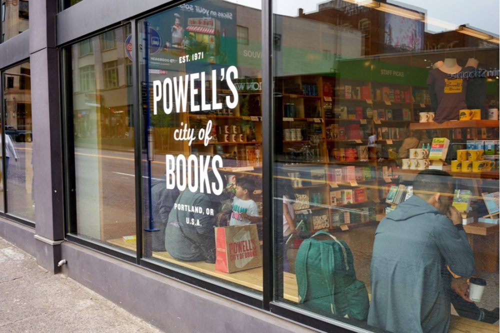 Powell's headquarters, dubbed Powell's City of Books | things to do in portland