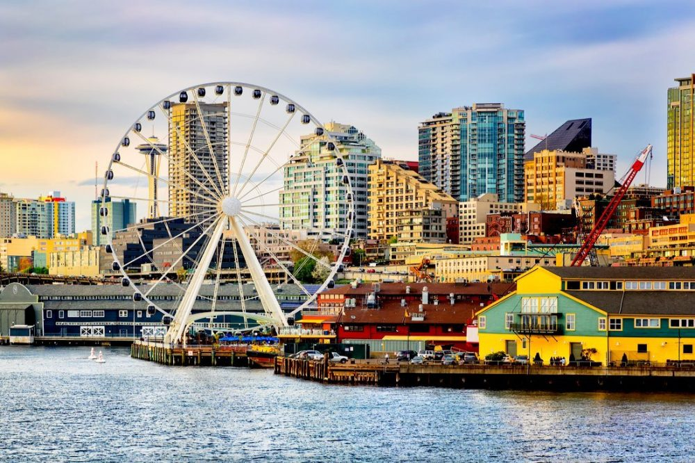 Seattle waterfront and skyline | things to do in seattle