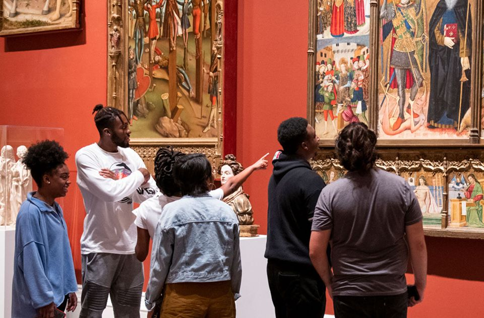 Spanish art display at Meadows Coliseum | best things to do in dallas