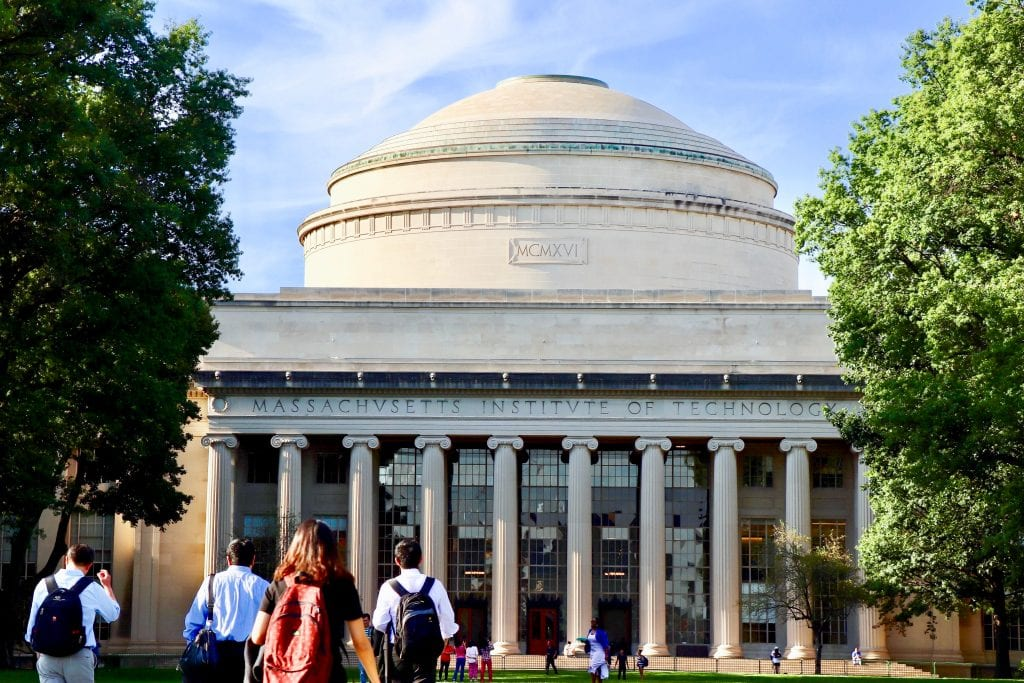 Students walking towards MIT | best things to do in boston