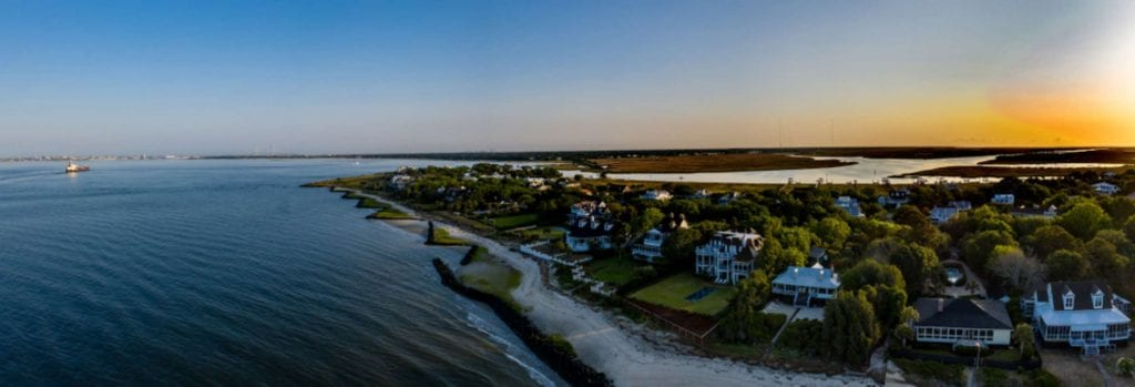 Sunrise Panorama of Sullivan's Island Best things to do in Charleston