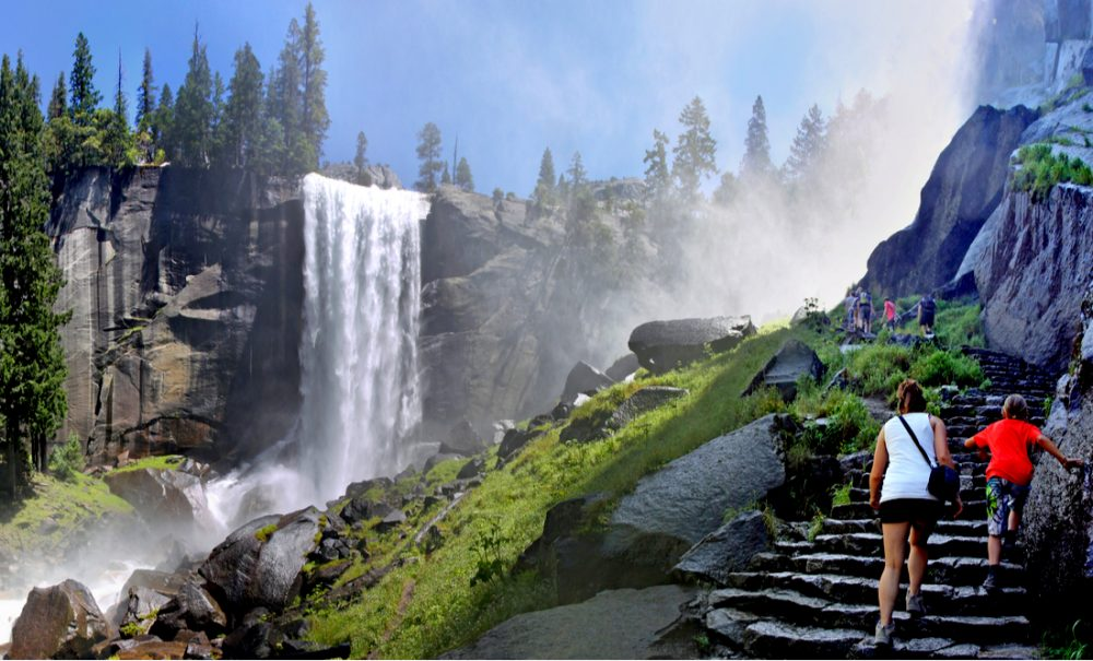 The Mist Trail | things to do in yosemite
