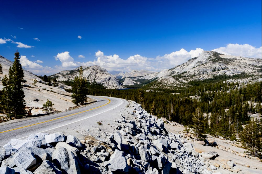 Tioga Pass is a mountain pass in the Sierra Nevada mountains of California