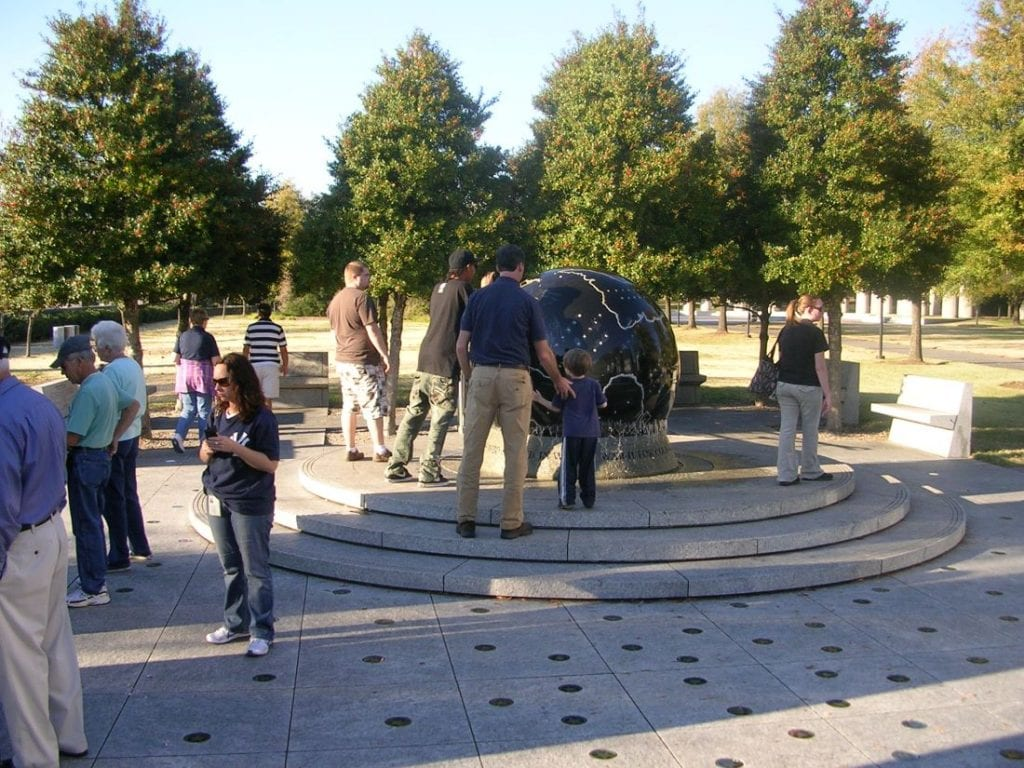 Visitors enjoying walking around the park at Bicentennial Capitol Mall | best things to do in nashville
