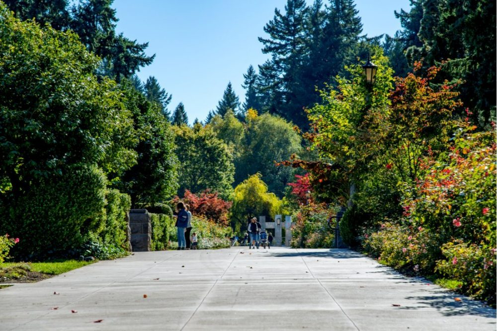 Washington Park, a large urban park in the city of Portland | things to do in portland