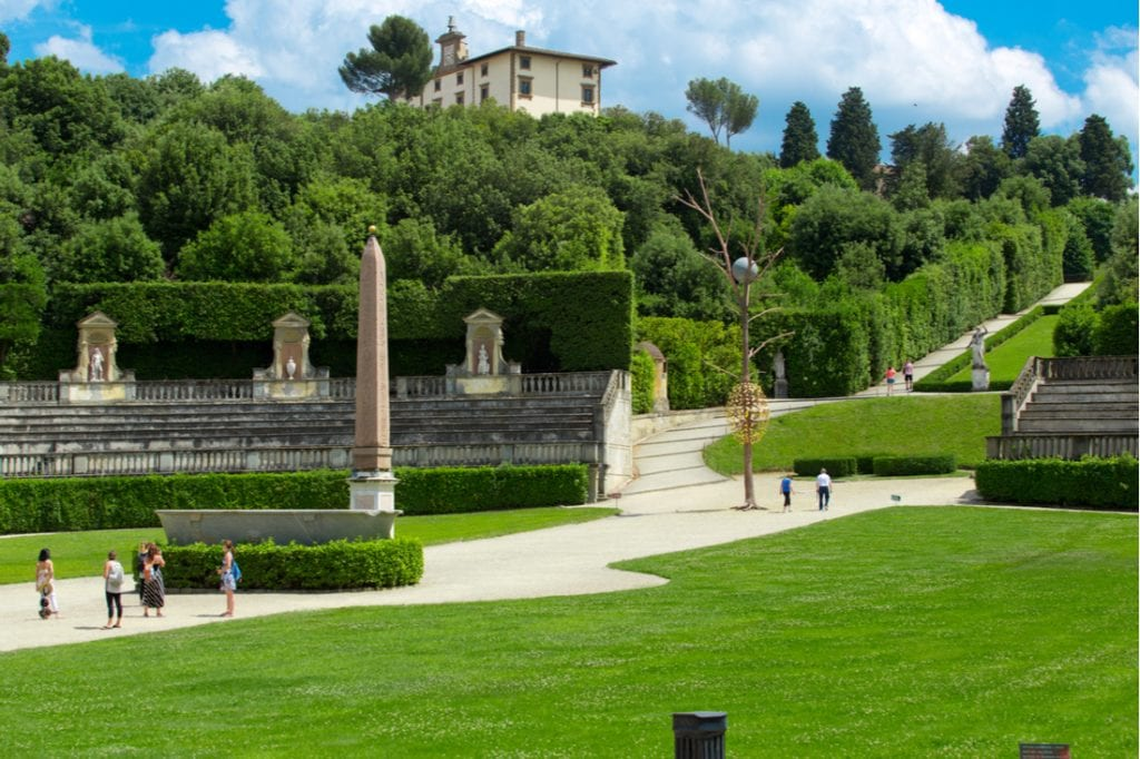 Boboli gardens in Florence   best things to do in florence