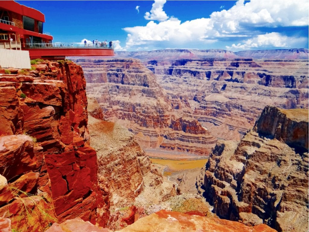 Grand Canyon Skywalk, Hualapai Reservation | best things to do in grand canyon