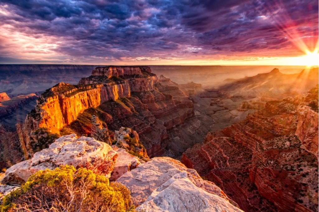 North Rim Grand Canyon Cape Royal | best things to do in grand canyon
