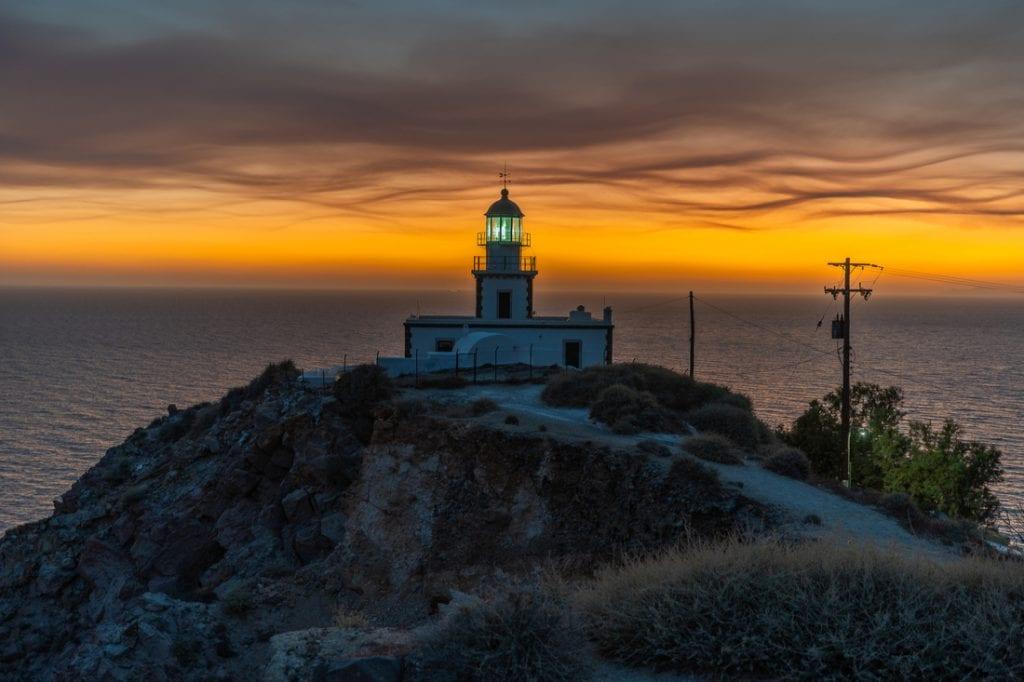 Akrotiri lighthouse - Santorini ,Greece | best things to do in santorini