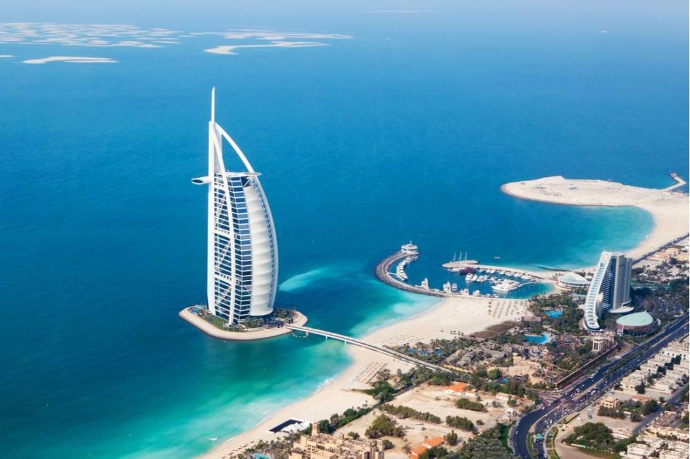 Burj Al Arab hotel in Dubai, UAE | best things to do in dubai