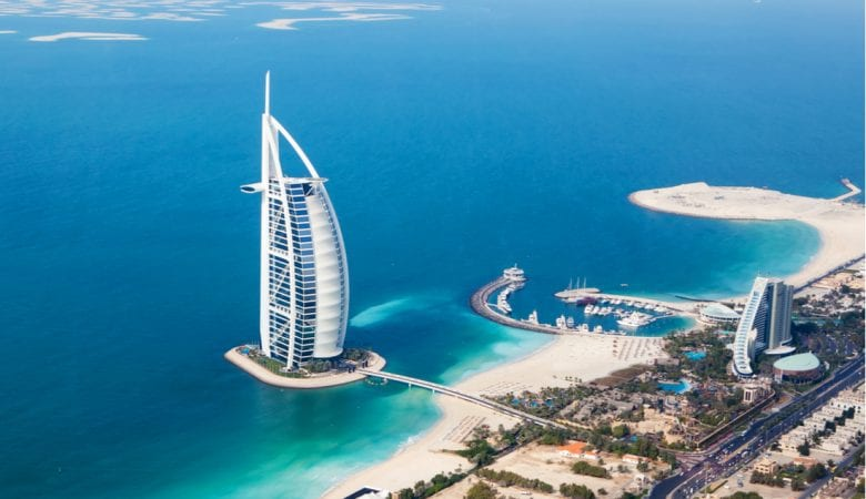Burj Al Arab hotel in Dubai, UAE   best things to do in dubai