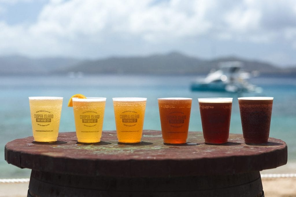 Cooper Island cold beer and refreshing beers | best things to do in BVI