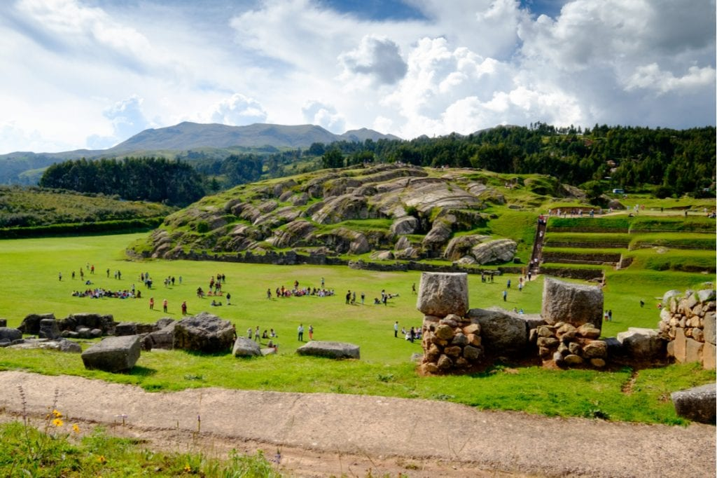 Saqsaywaman the sacred ruins of the Incas in Cusco | best things to do in machu picchu