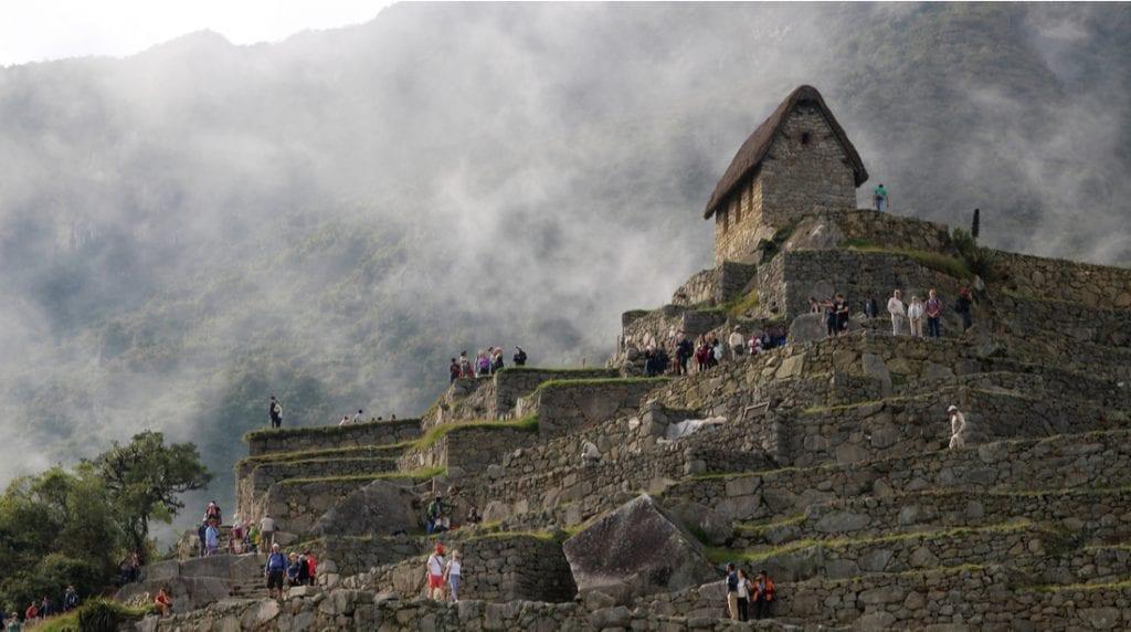 The Caretaker's Hut on Machu Picchu | best things to do in machu picchu
