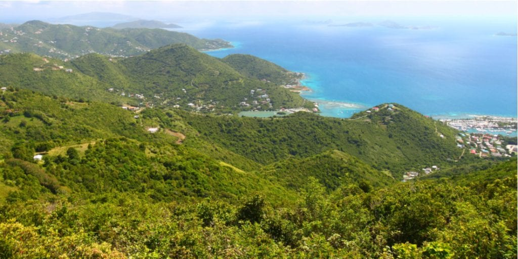 Tortola from Sage Mountain National Park - British Virgin Islands | best things to do in BVI