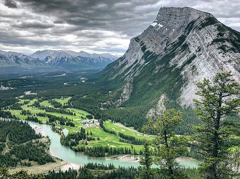 Tunnel Mountain Trail route | things to do in banff