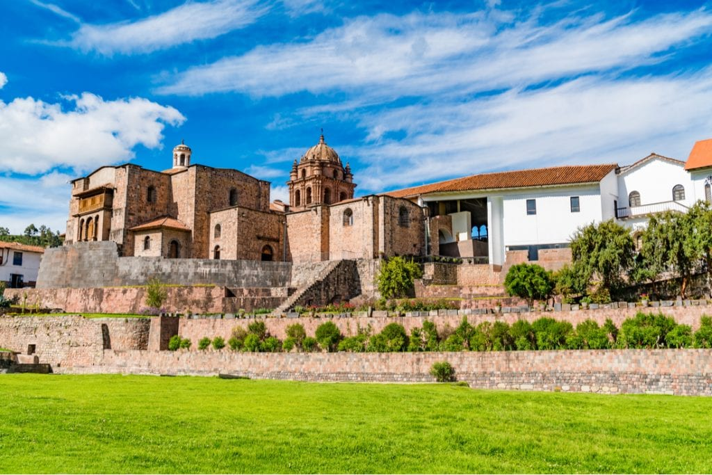 View of Qurikancha in Cusco the most important temple in the Inca Empire | best things to do in machu picchu