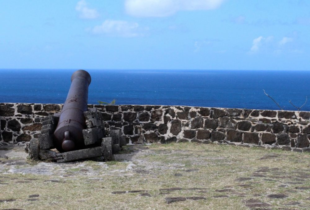 cannon-in-fort-rodney | things to do in st. lucia