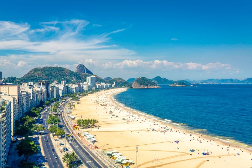 famous-copacabana-beach-in-rio-de-janeiro-brazil | things to do in rio de janeiro